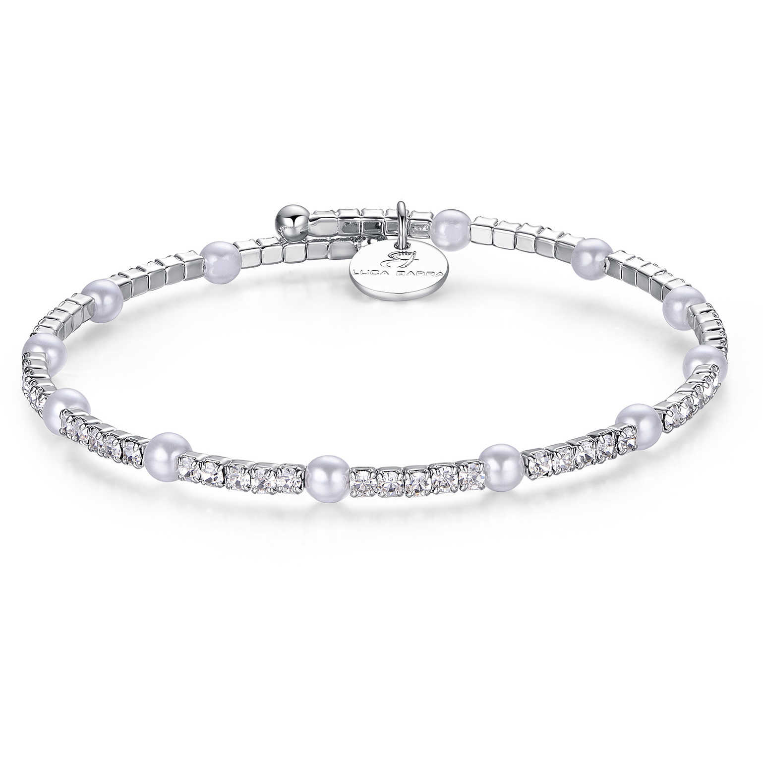 come acquistare top design design popolare bracciale donna gioielli Luca Barra Perle Easy Chic LBBK1398