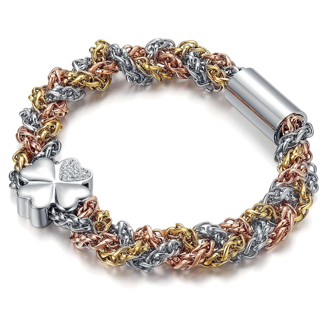 bracciale donna gioielli Luca Barra Tara LBBK1064