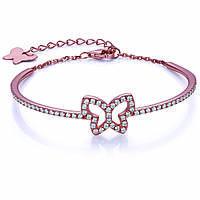 bracciale donna gioielli Melitea Farfalle MB148