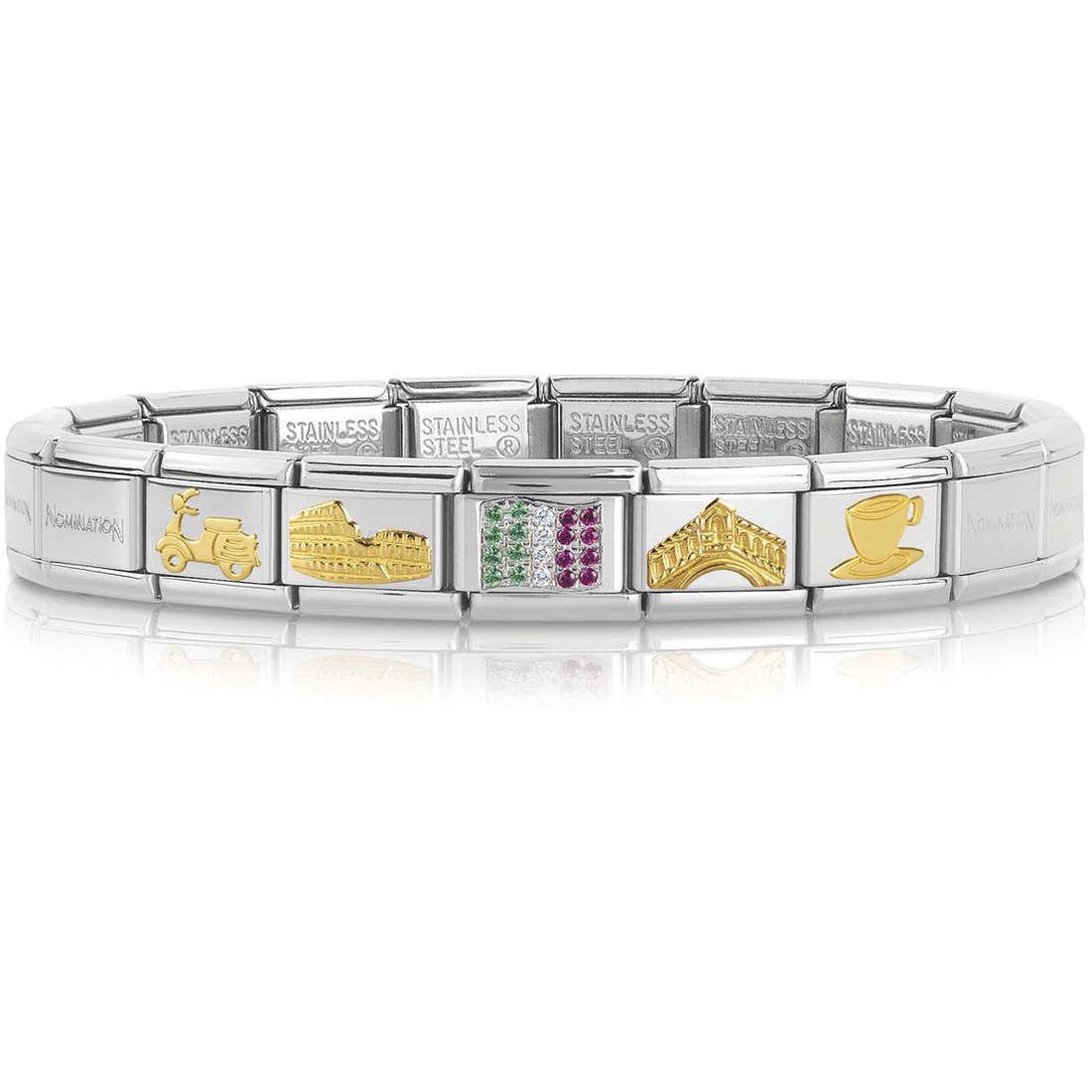 bracciale donna gioielli Nomination 339116/20