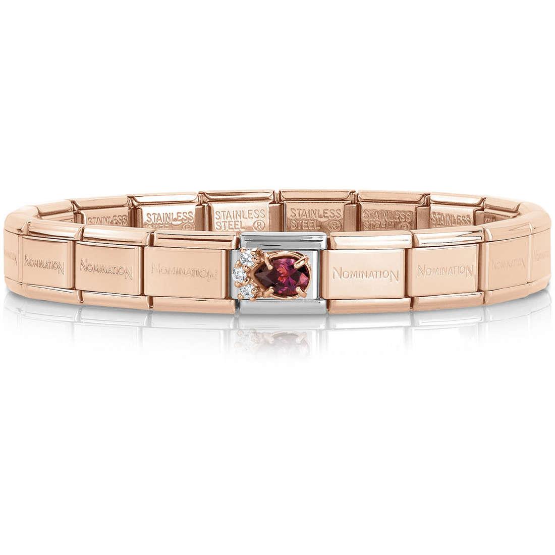 bracciale donna gioielli Nomination 439019/20