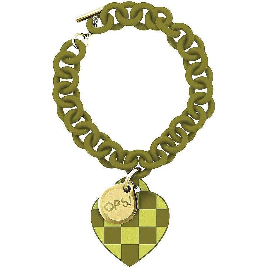 bracciale donna gioielli Ops Objects Damier OPSBR-104