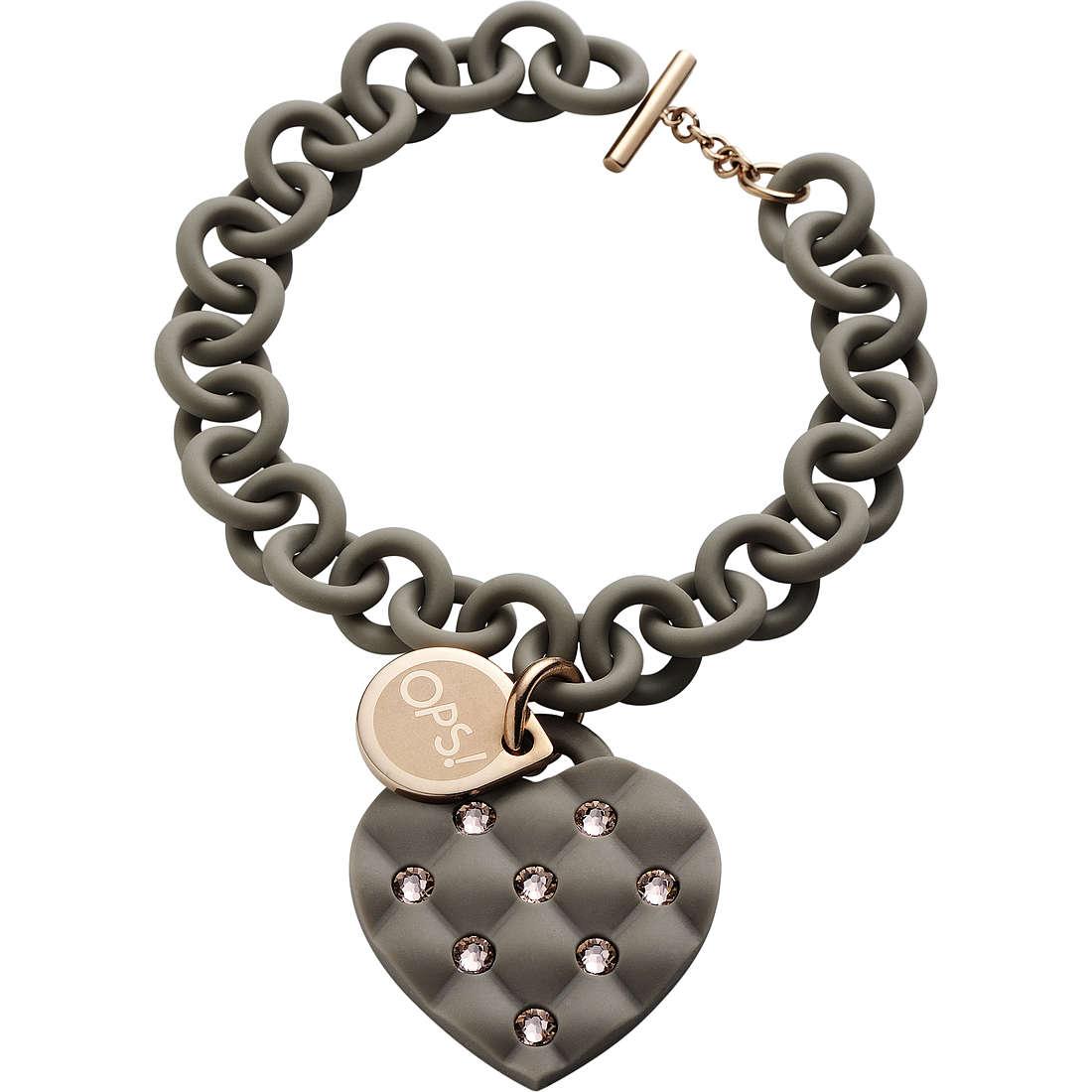 bracciale donna gioielli Ops Objects Matelassè Crystal OPSBR-231