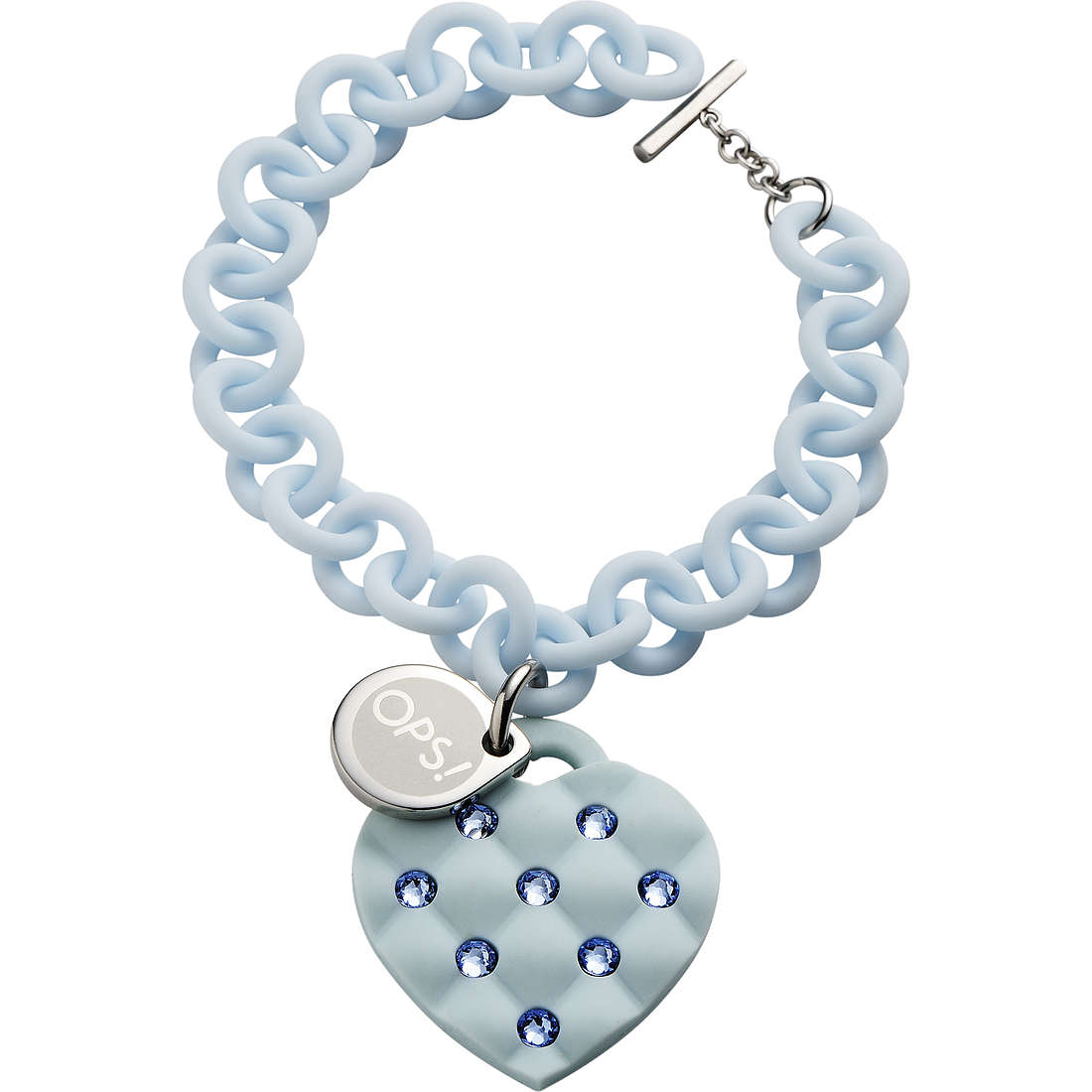 bracciale donna gioielli Ops Objects Matelassè Crystal OPSBR-234
