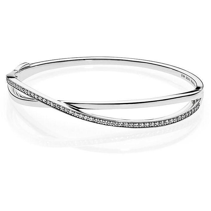 in vendita 7ee33 e057a bracciale donna gioielli Pandora 590533CZ-1