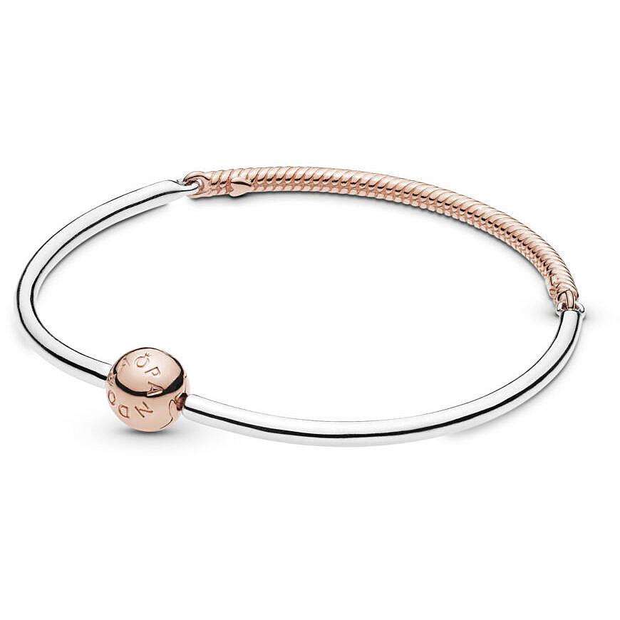 foto ufficiali 71ab7 79904 bracciale donna gioielli Pandora Moments 588143-21