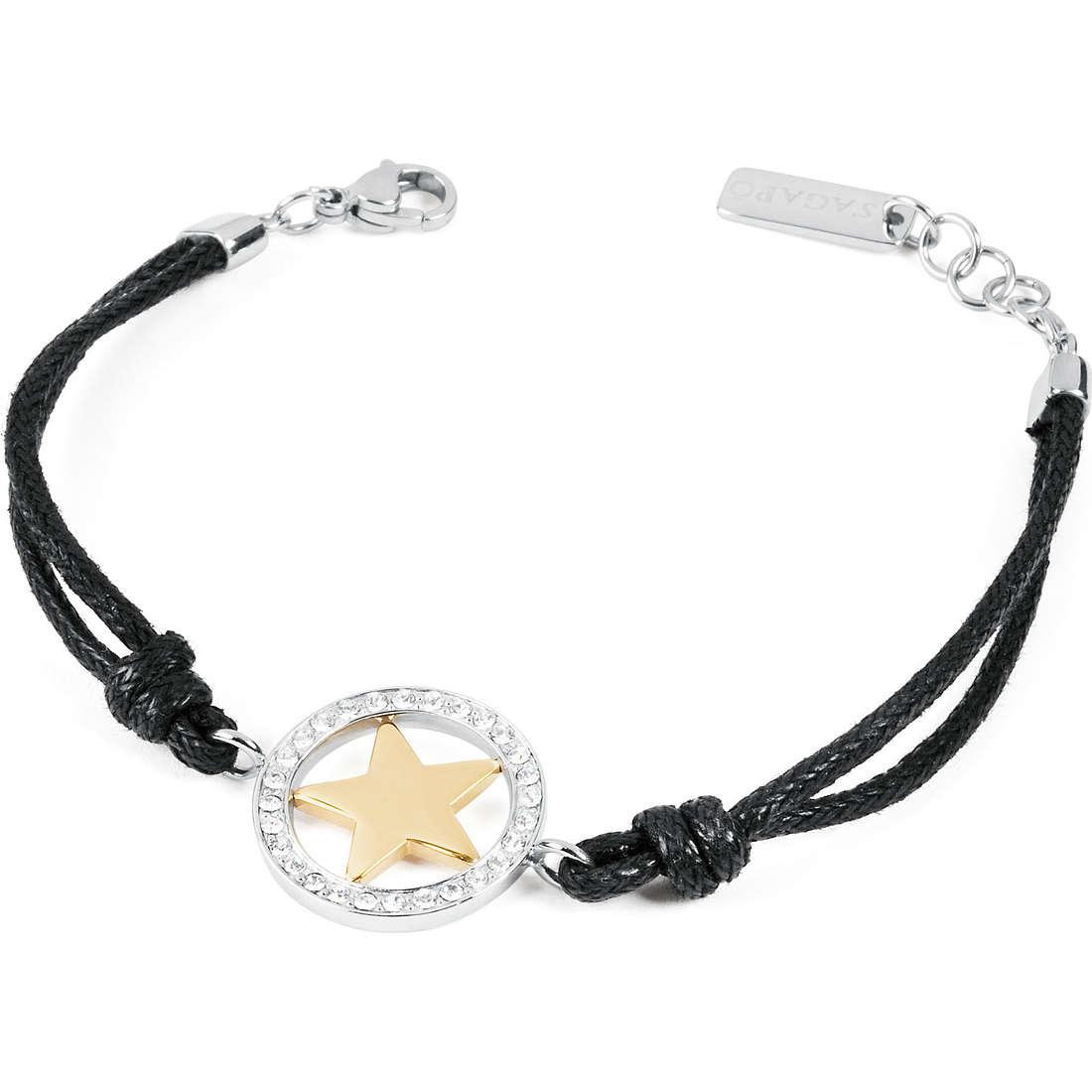 bracciale donna gioielli Sagapò Amulet SMU11