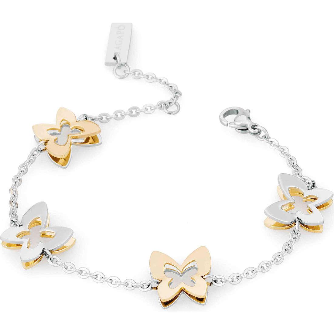 bracciale donna gioielli Sagapò Butterfly SBF11