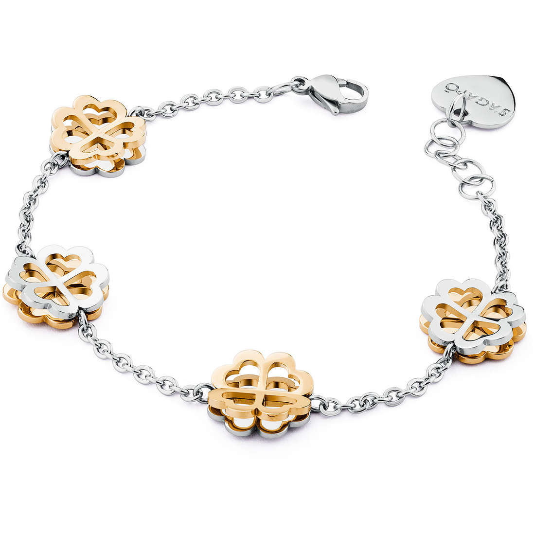 bracciale donna gioielli Sagapò Butterfly SBF16