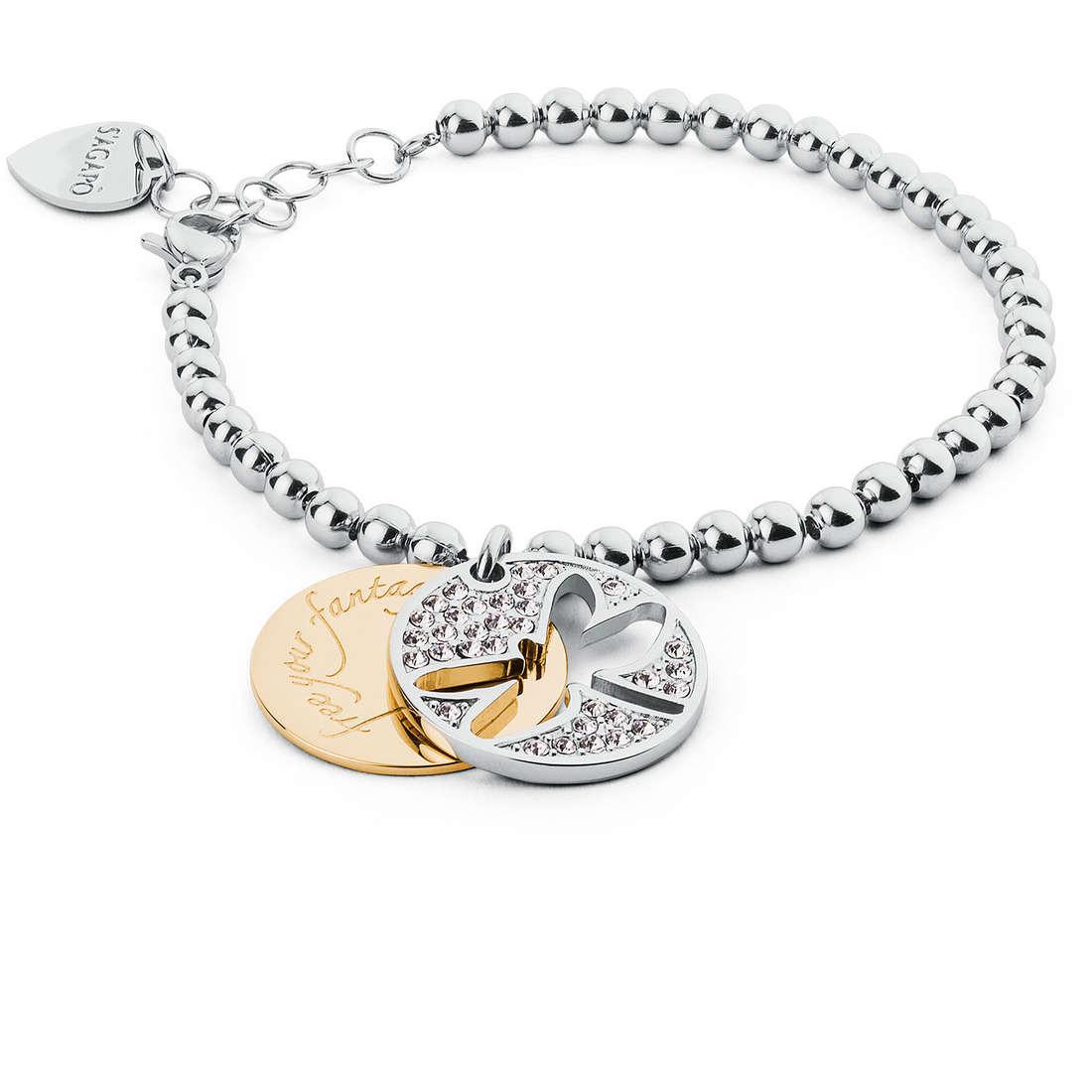bracciale donna gioielli Sagapò Fortune SFO16