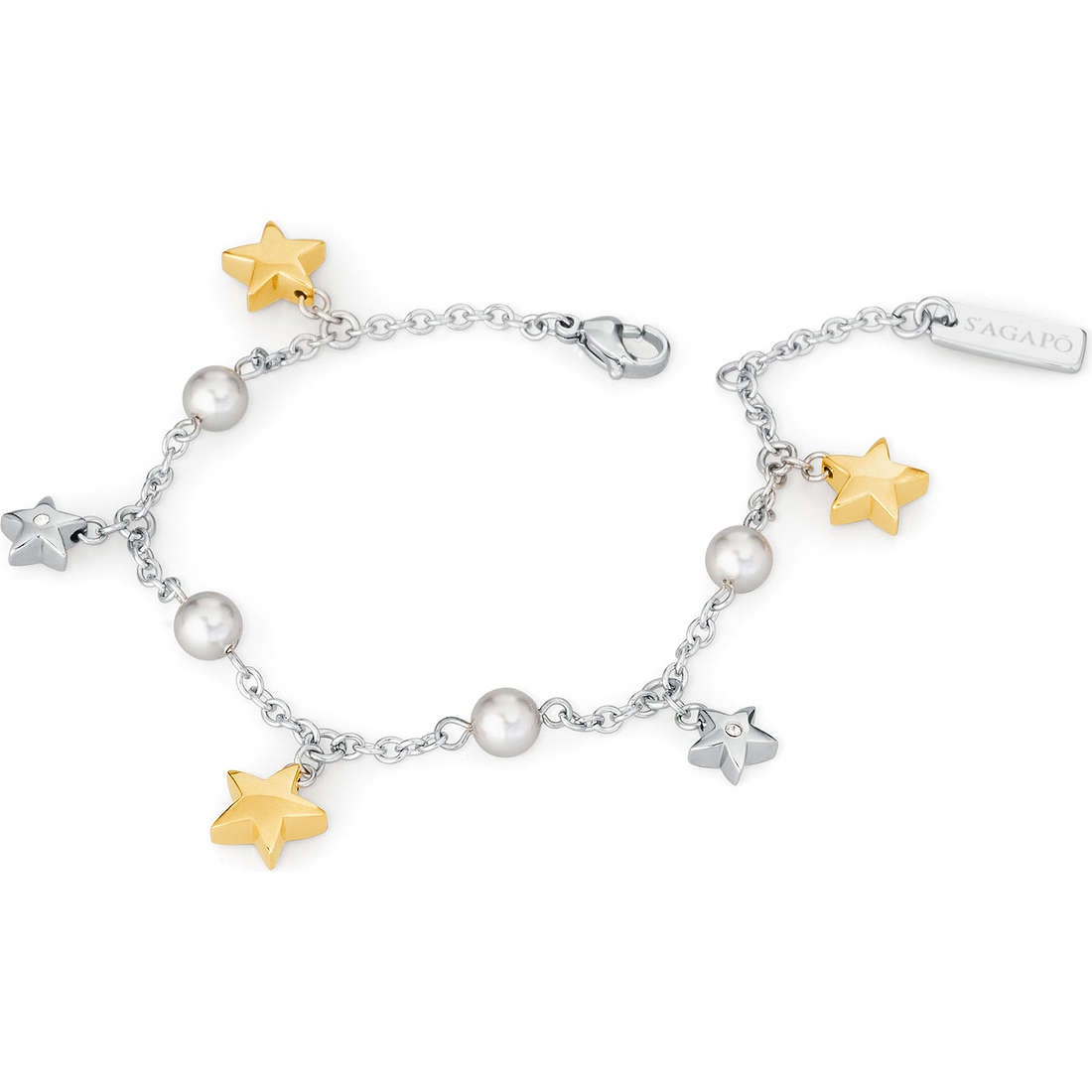 bracciale donna gioielli Sagapò Little Star SLS11