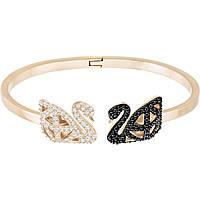 bracciale donna gioielli Swarovski Facet Swan 5372918