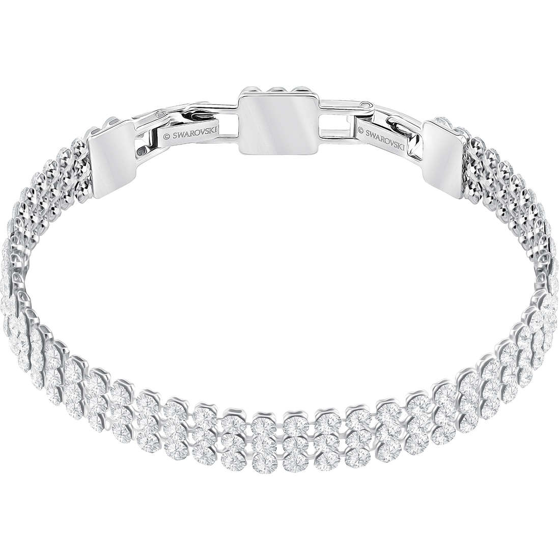 84b4f7190972f1 bracciale donna gioielli Swarovski Fit 5363516 bracciali Swarovski