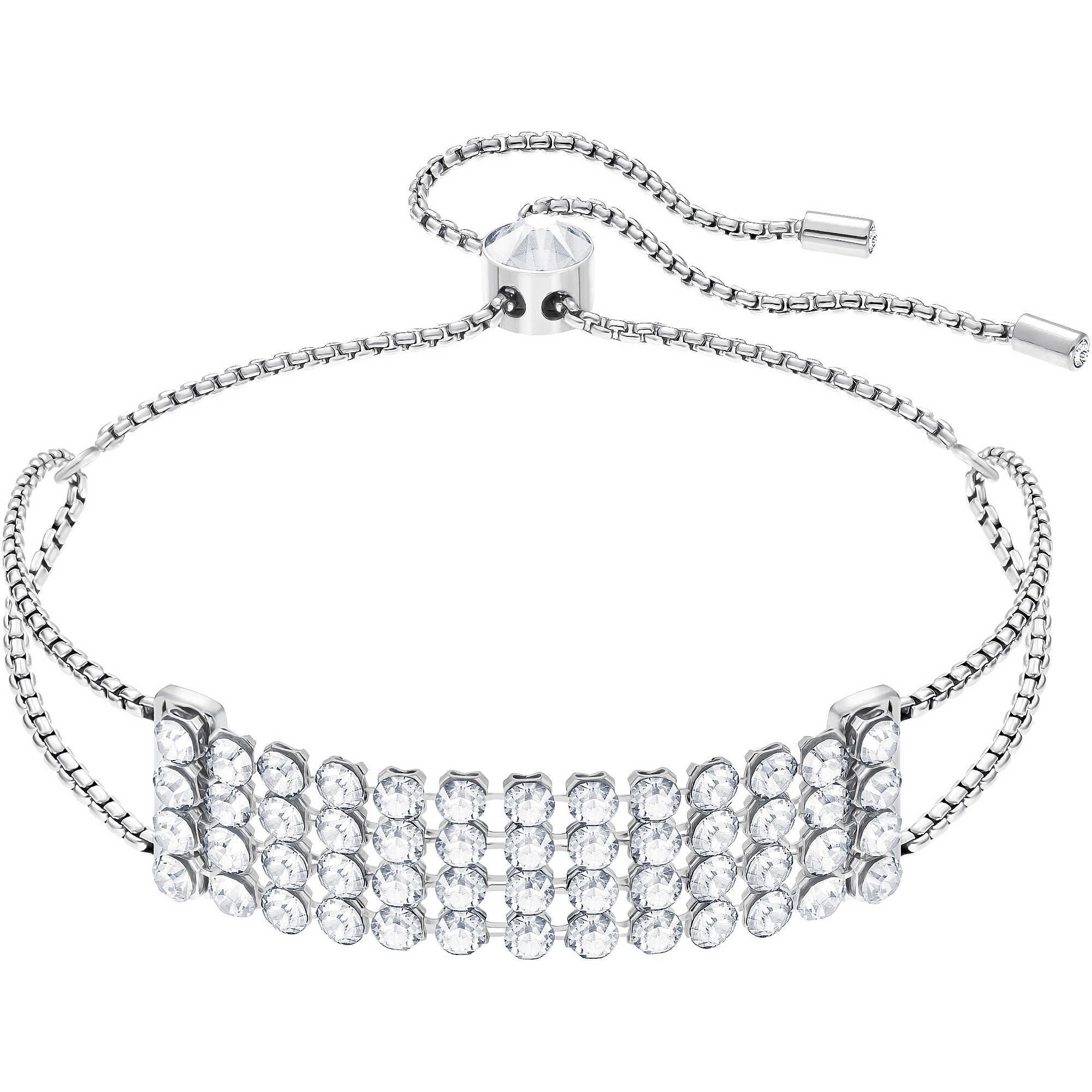91e4f903e8c6b6 bracciale donna gioielli Swarovski Fit 5386194 bracciali Swarovski