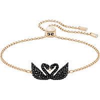 bracciale donna gioielli Swarovski Iconic Swan 5344132