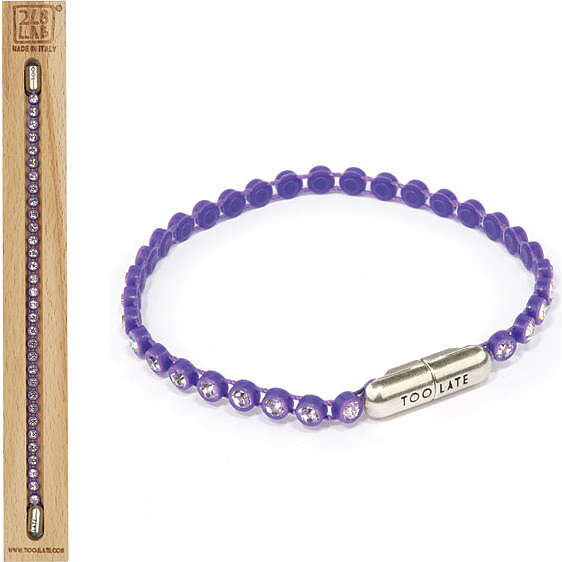 bracciale donna gioielli Too late Ping Pong 8034055648797