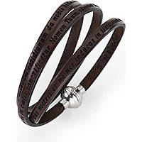 bracciale unisex gioielli Amen Angelo di Dio AJ-ADIT05-54