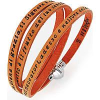 bracciale unisex gioielli Amen Ave Maria Italiano AM-AMIT12-57