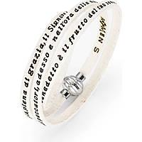 bracciale unisex gioielli Amen Ave Maria Italiano MY-AMIT07-60