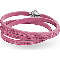 bracciale unisex gioielli Amen Candies GPN-ROSA-54