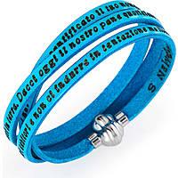 bracciale unisex gioielli Amen Padre Nostro Italiano AM-PNIT13-60