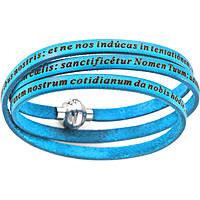 bracciale unisex gioielli Amen Padre Nostro Latino AM-PNLA13-54