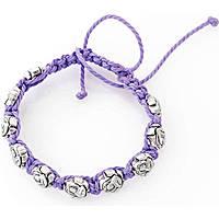 bracciale unisex gioielli Amen Santi SHSR09