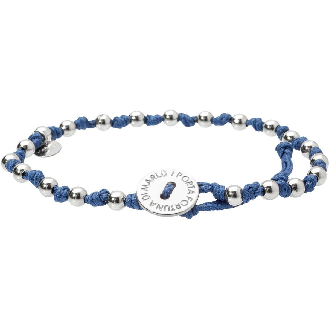 bracciale unisex gioielli Marlù 18BR027B