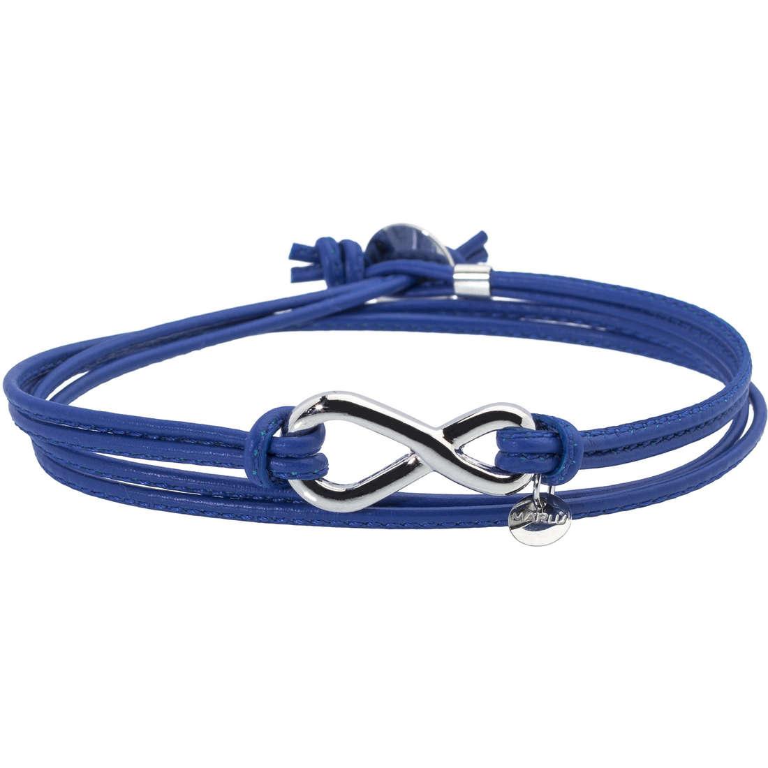 bracciale unisex gioielli Marlù My infinity 18BR036B
