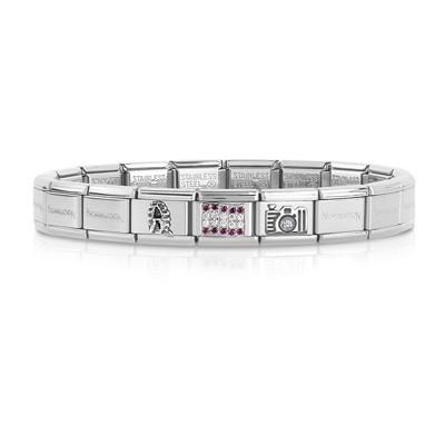 bracciale unisex gioielli Nom.Composable 339123/01