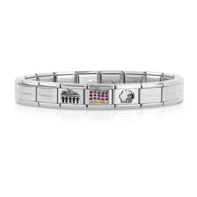 bracciale unisex gioielli Nom.Composable 339123/03