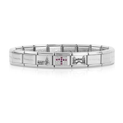 bracciale unisex gioielli Nom.Composable 339123/08