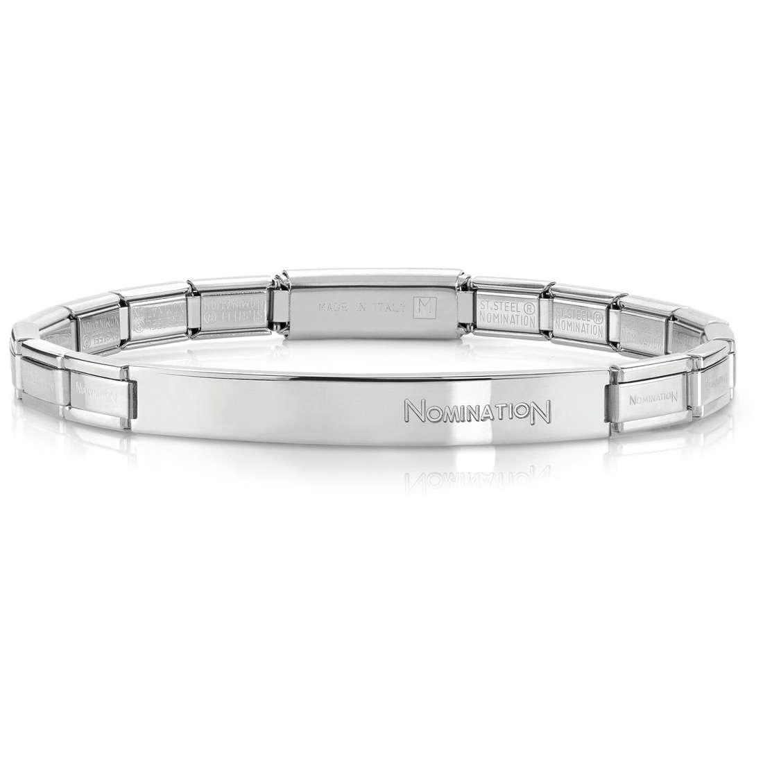 bracciale unisex gioielli Nomination 021112/001