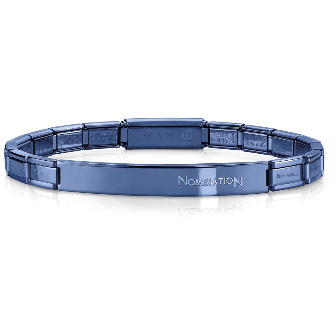 bracciale unisex gioielli Nomination 021113/016