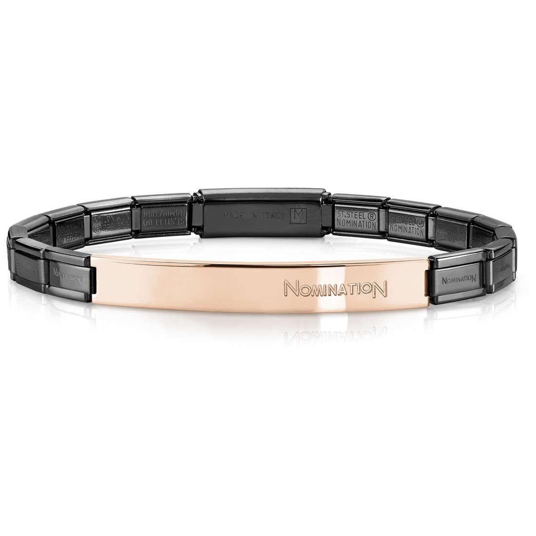 bracciale unisex gioielli Nomination 021113/029