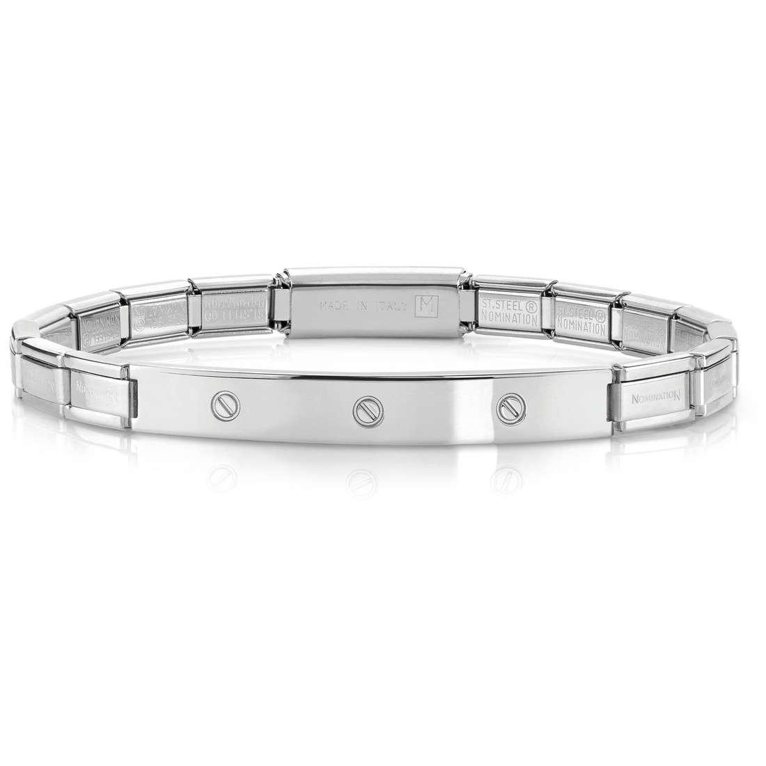 bracciale unisex gioielli Nomination 021114/001