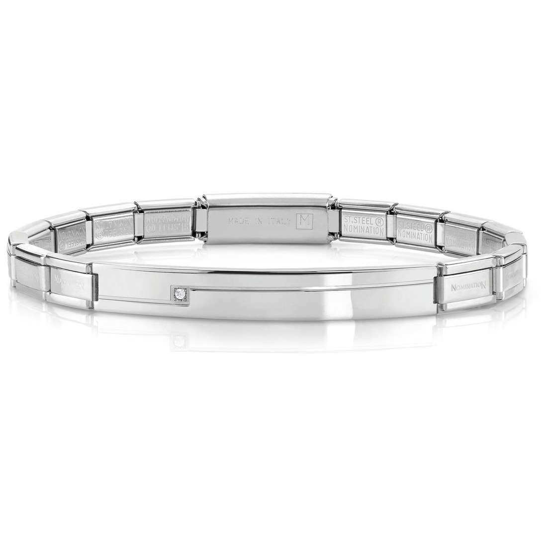 bracciale unisex gioielli Nomination 021116/001