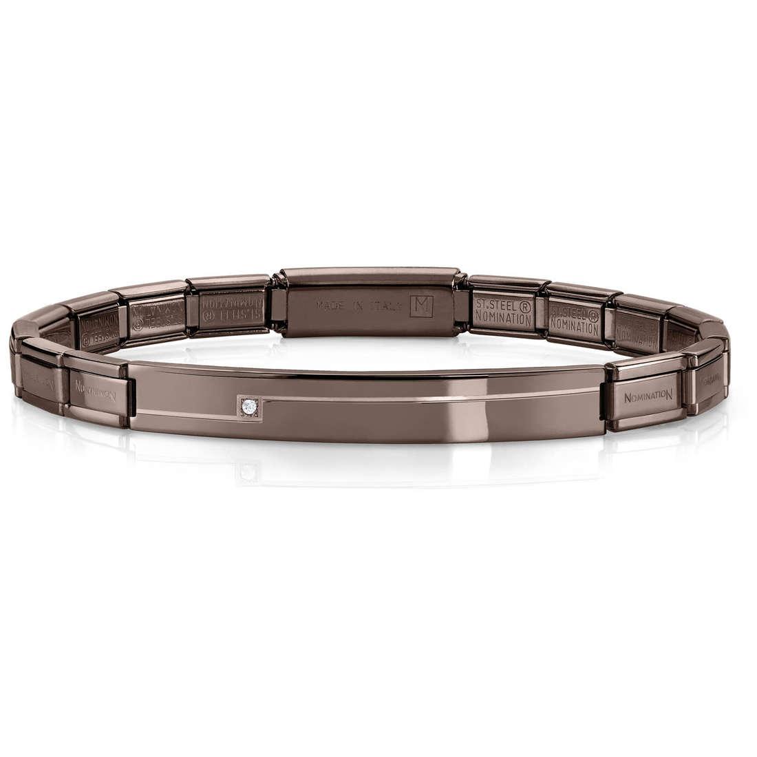 bracciale unisex gioielli Nomination 021117/028