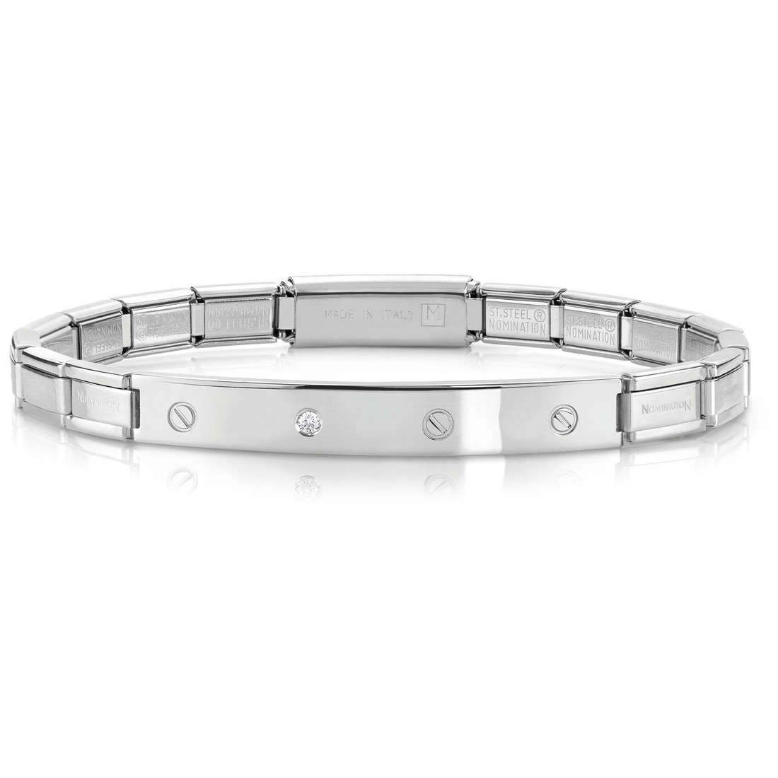 bracciale unisex gioielli Nomination 021118/001