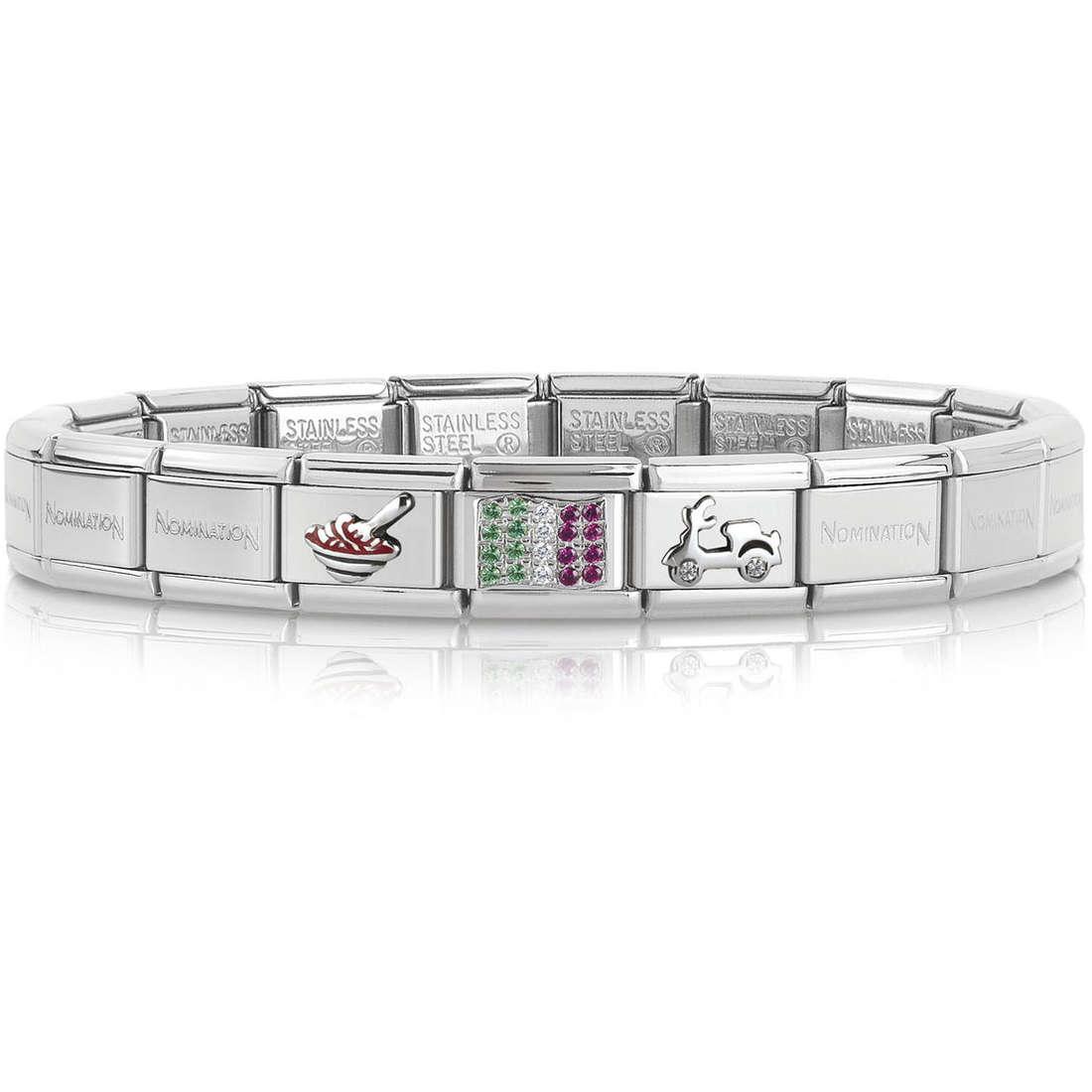 bracciale unisex gioielli Nomination 339114/20