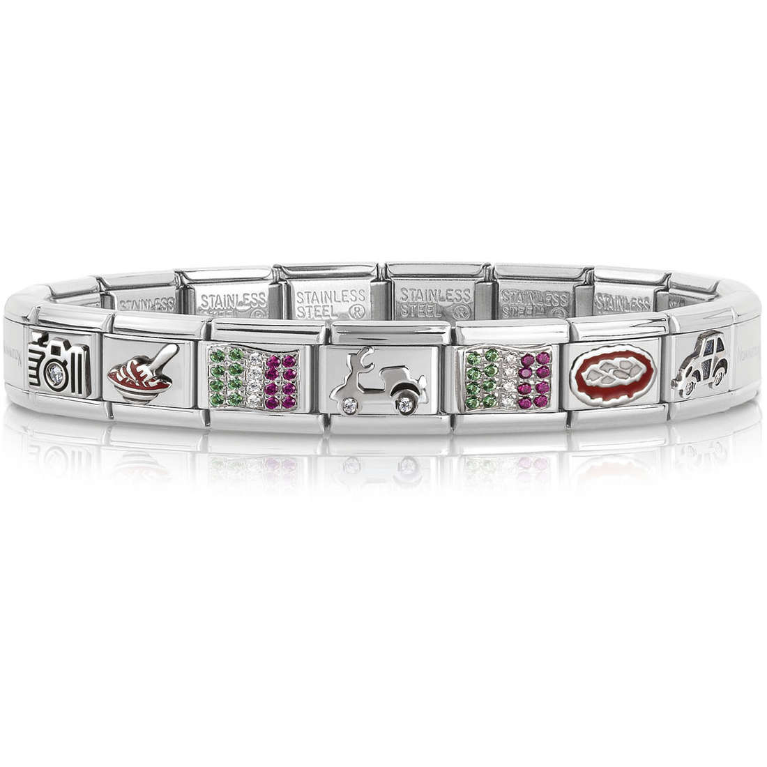 bracciale unisex gioielli Nomination 339115/20