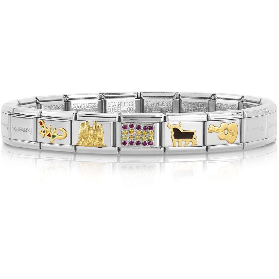 bracciale unisex gioielli Nomination 339117/20