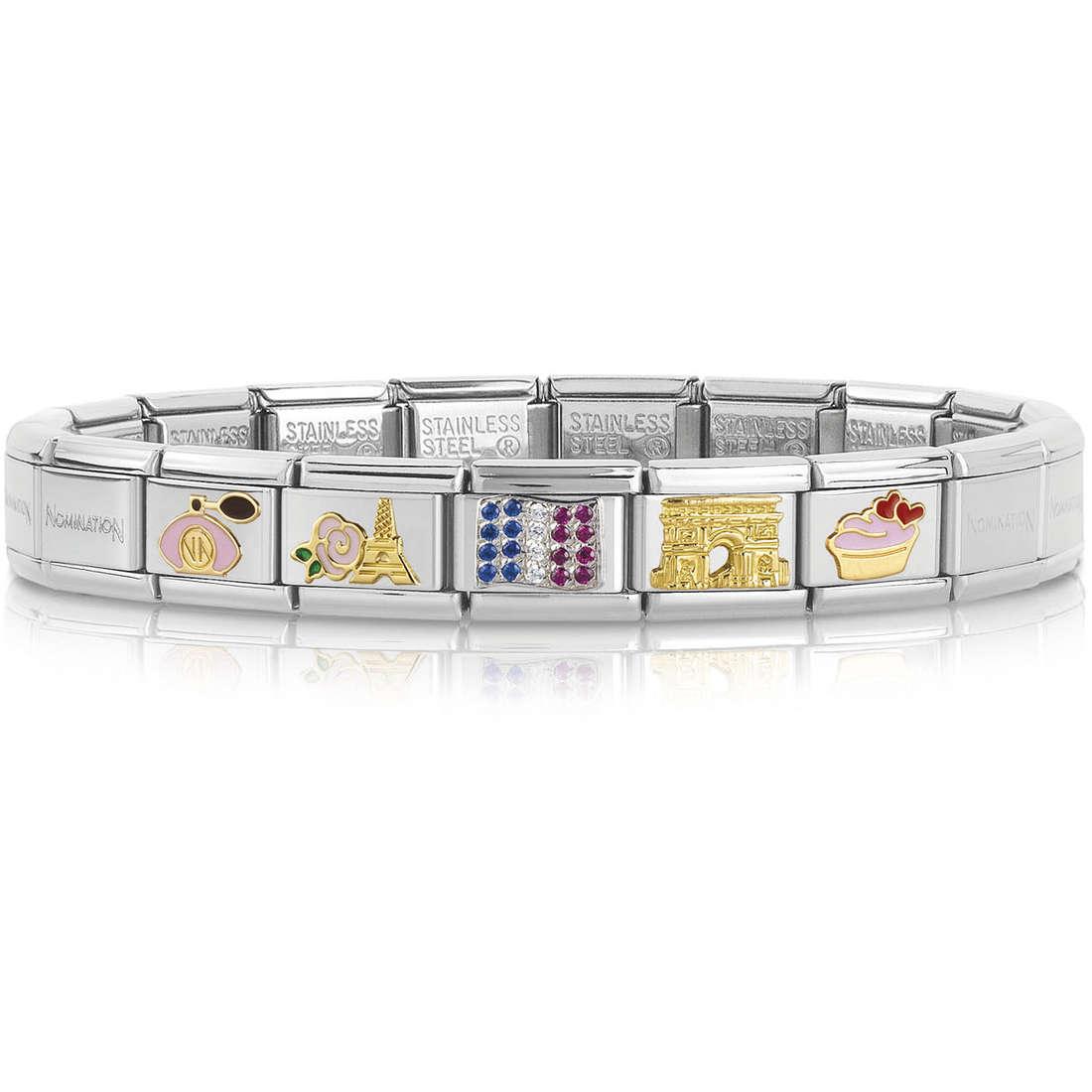 bracciale unisex gioielli Nomination 339118/20
