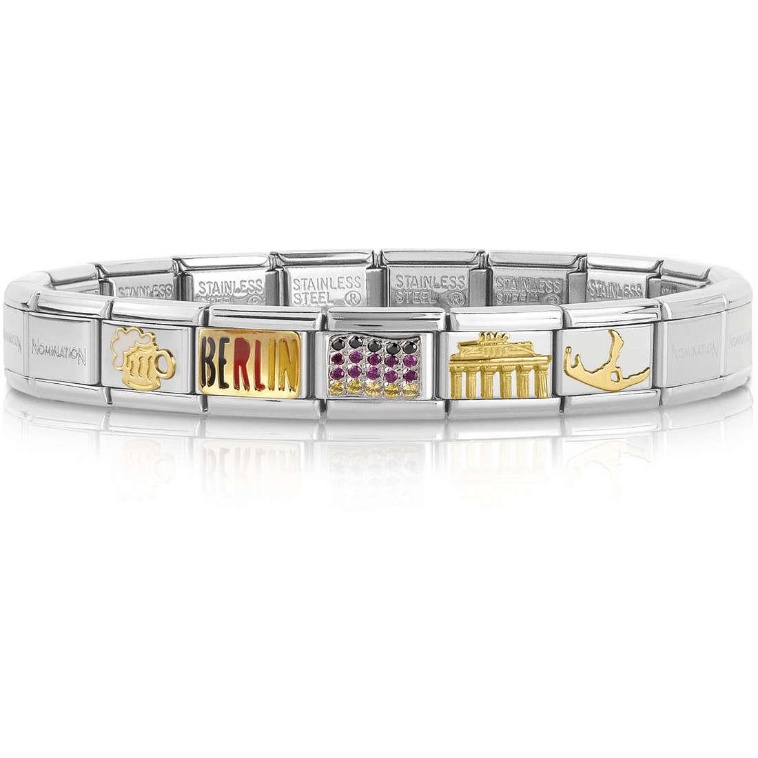 bracciale unisex gioielli Nomination 339119/20