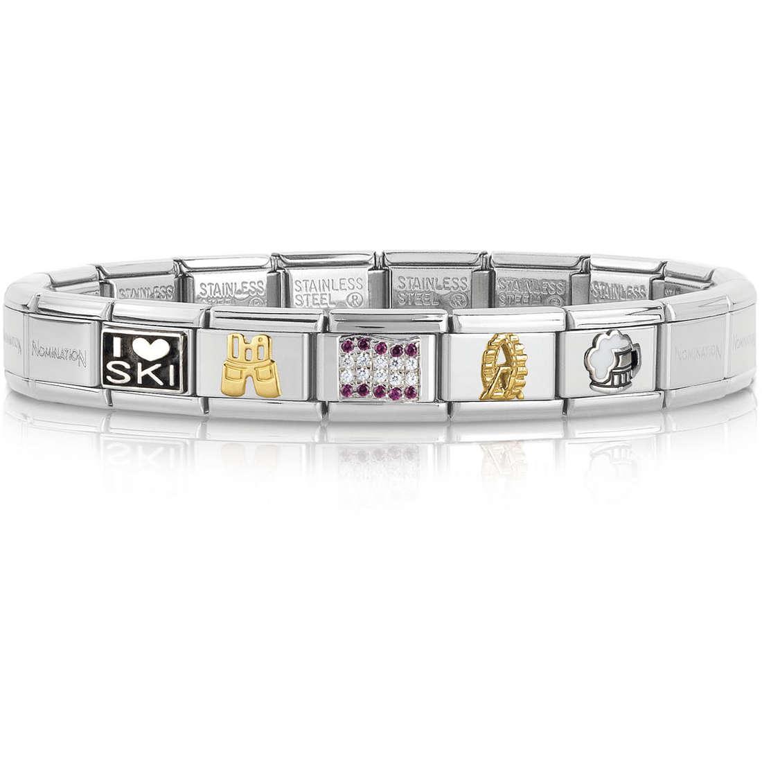 bracciale unisex gioielli Nomination 339120/20