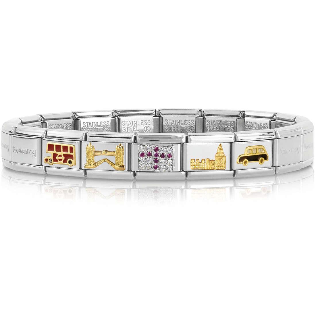 bracciale unisex gioielli Nomination 339121/20