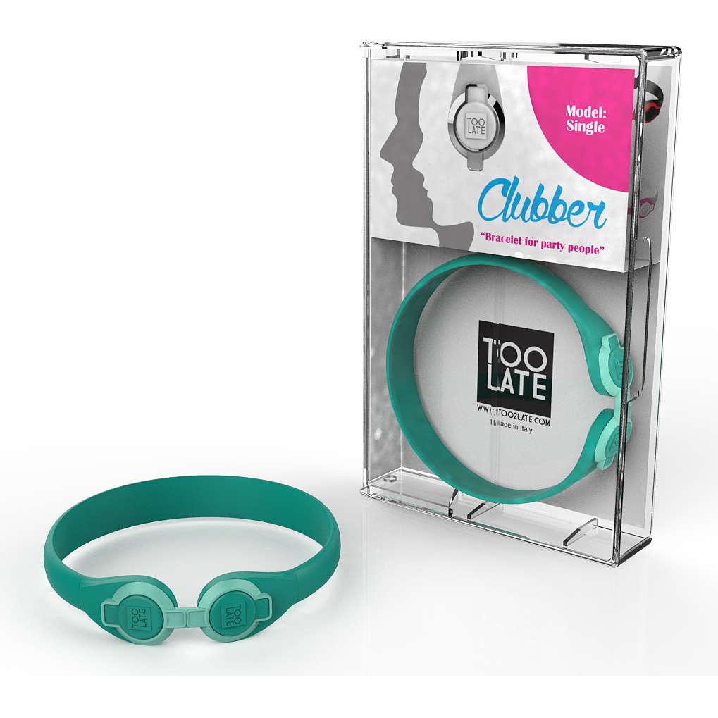 bracciale unisex gioielli Too late Clubber 8052745222348