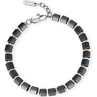 bracciale uomo gioielli 2Jewels Black Fiber 231932