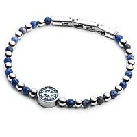 bracciale uomo gioielli 4US Cesare Paciotti Blue Bubbles 4UBR2039