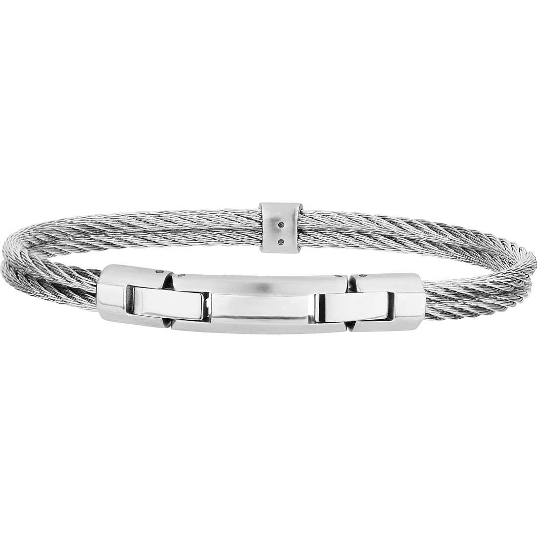 bracciale uomo gioielli Breil Cable TJ1827